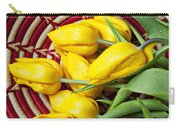 Basket Full Of Tulips Carry-all Pouch