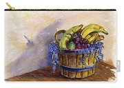Basket Of Fruit Carry-all Pouch
