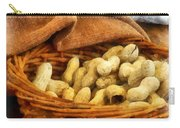 Basket Of Peanuts Carry-all Pouch
