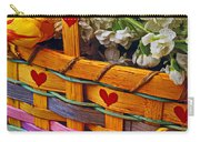 Basket Of Spring Flowers Carry-all Pouch