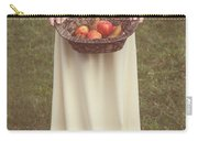 Basket With Fruits Carry-all Pouch
