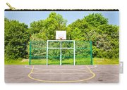 Basketball Court Carry-all Pouch by Tom Gowanlock