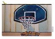 Basketball Hoop Sketchbook Project Down My Street Carry-all Pouch by Irina Sztukowski