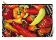 Basketful Of Peppers Carry-all Pouch