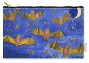 Bat People At The Pipistrelle Party Carry-all Pouch