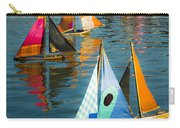 Bateaux Jouets Carry-all Pouch by Beth Riser