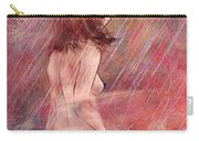 Bathing In The Rain Carry-all Pouch