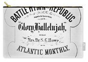 Battle Hymn Of Republic Carry-all Pouch