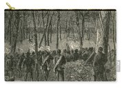 Battle Of The Wilderness, 1864 Carry-all Pouch by Photo Researchers
