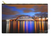 Bayonne Bridge Carry-all Pouch by Paul Ward