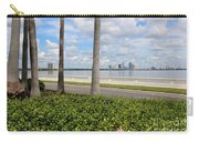 Bayshore Through Palms Carry-all Pouch