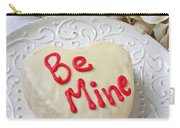 Be Mine Heart Cake Carry-all Pouch