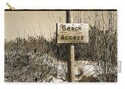 Beach Access Carry-all Pouch