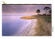 Beach Along Saint Josephs Bay Florida Carry-all Pouch