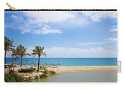 Beach And Sea On Costa Del Sol Carry-all Pouch