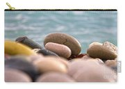 Beach And Stones Carry-all Pouch by Stelios Kleanthous