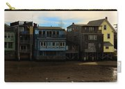 Beach Buildings - Greeting Card Carry-all Pouch