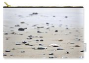 Beach Detail On Pacific Ocean Coast Of Canada Carry-all Pouch