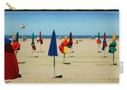 Beach In Deauville Carry-all Pouch