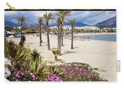 Beach In Puerto Banus Carry-all Pouch