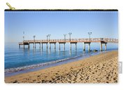 Beach Pier In Marbella Carry-all Pouch