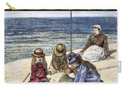 Beach Scene, 1879 Carry-all Pouch