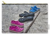 Beach Shoes Carry-all Pouch