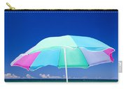 Beach Umbrella At The Shore Carry-all Pouch
