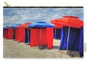 Beach Umbrellas Nice France Carry-all Pouch