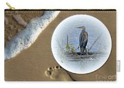 Beached Heron Carry-all Pouch