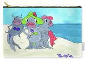 Beached Ladies Carry-all Pouch