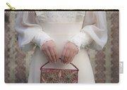 Beaded Handbag Carry-all Pouch by Joana Kruse