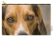 Beagle Hound Dog Eyes Of Love Carry-all Pouch