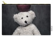 Bear And Apple Carry-all Pouch