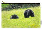 Bears In A Peaceful Meadow1 Carry-all Pouch