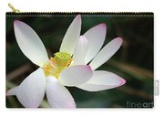 Beatutiful Wet Lotus Carry-all Pouch