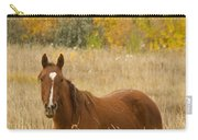 Beautiful Chestnut Horse Carry-all Pouch