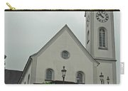 Beautiful Church In The Swiss City Of Lucerne Carry-all Pouch by Ashish Agarwal