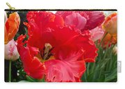 Beautiful From Inside And Out - Parrot Tulips In Philadelphia Carry-all Pouch