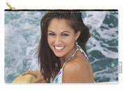 Beautiful Girl Boating Carry-all Pouch