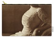 Beautiful Lady In 1880 Carry-all Pouch