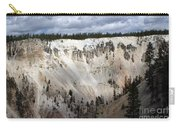 Beautiful Lighting On The Grand Canyon In Yellowstone Carry-all Pouch