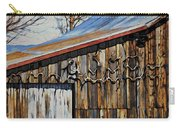Beautiful Old Barn With Horns Carry-all Pouch