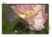 Beautiful Pink And Yellow Climbing Peace Rose Carry-all Pouch