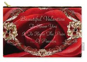 Beautiful Valentine Carry-all Pouch