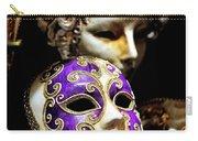 Beautiful Venetian Masks Carry-all Pouch