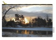Beautiful Winter Dawn Carry-all Pouch