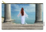 Beautiful Woman In White Carry-all Pouch