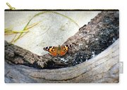 Beauty On The Beach Carry-all Pouch by Karen Wiles
