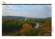 Beauty On The Bluffs Autumn Colors Carry-all Pouch
